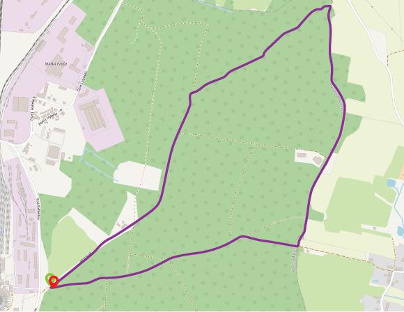 Běh na Klobasné 10,2 km